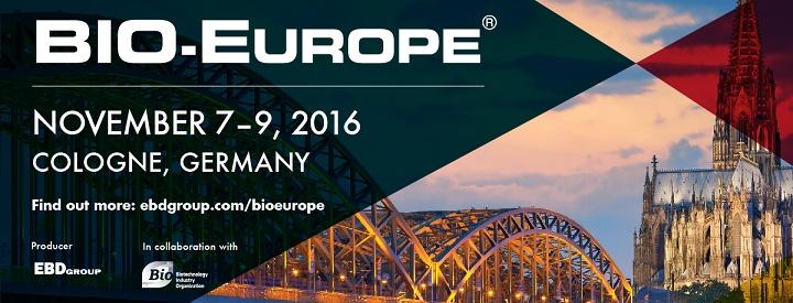 BIO-Europe® 2016 konference