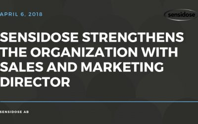 Sensidose strengthens the organization with sales and marketing director