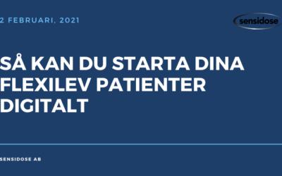 Så kan du starta dina Flexilev patienter digitalt (video)