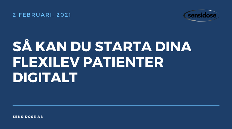 Så kan du starta dina Flexilev patienter digitalt (video)